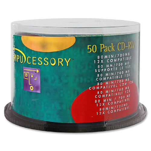 Our Compucessory Branded Surface Cd-Rw - Pack Of 50 is on sale now.