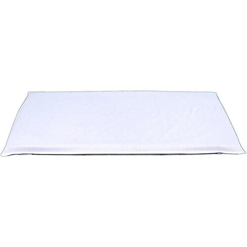 White Cotton and Polyester Pillowcase Style Mat Sheet - 54