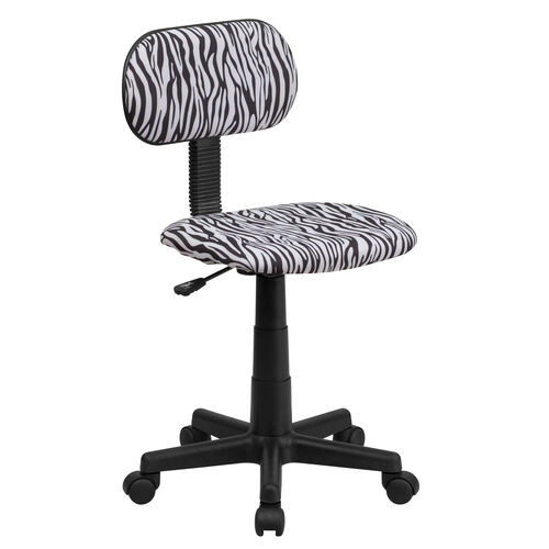 Our Zebra Print Swivel Task Chair is on sale now.