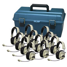 12 HA-66M Deluxe Multimedia Headphones with Carrying Case