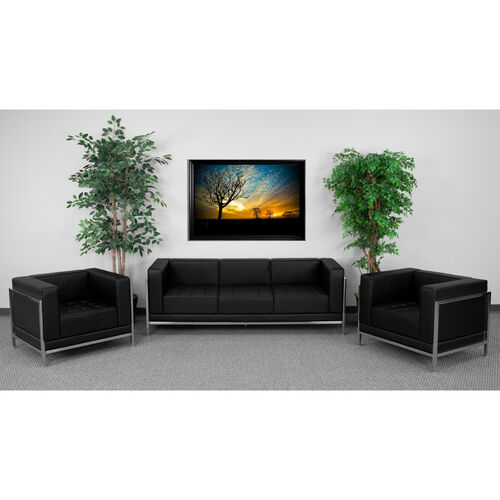 Our HERCULES Imagination Series Black LeatherSoft Sofa & Chair Set is on sale now.