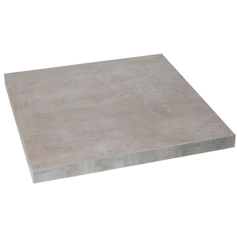 ... Our Marco 36u0027u0027 Square Indoor Table Top With Concrete Melamine Finish Is  On Sale