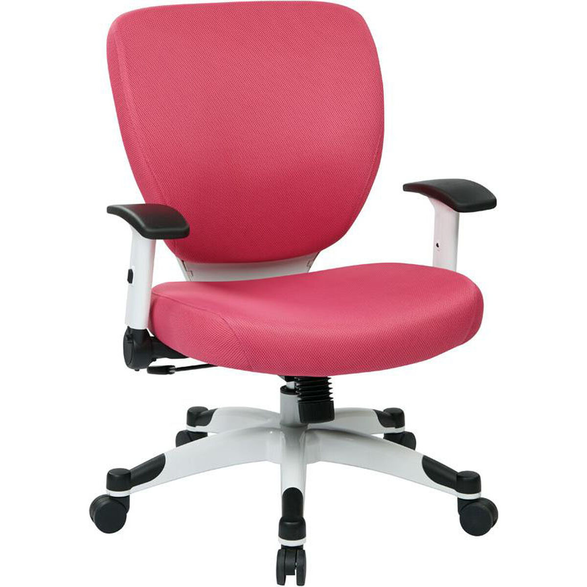 Our Space Pulsar Padded Mesh Seat And Back Managers Office Chair Pink Is On