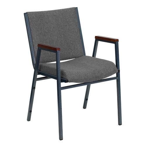 Our HERCULES Series Heavy Duty Gray Fabric Stack Chair with Arms is on sale now.