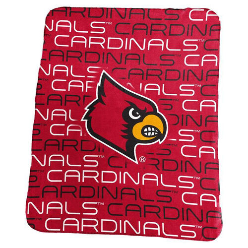Our University of Louisville Team Logo Classic Fleece Throw is on sale now.