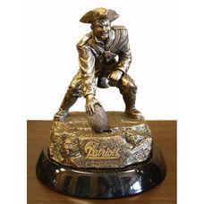 New England Patriots Tim Wolfe Sculpture