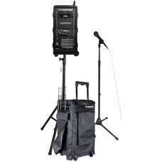 Basic Digital Audio Travel Partner 250 Watt Amplifier PA Package - 23