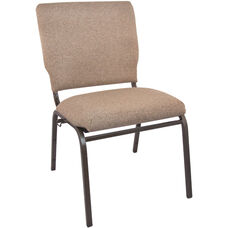 Advantage Mixed Tan Multipurpose Church Chairs - 18.5 in. Wide