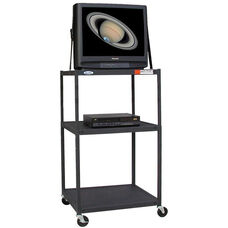 Adjustable Steel TV Cart
