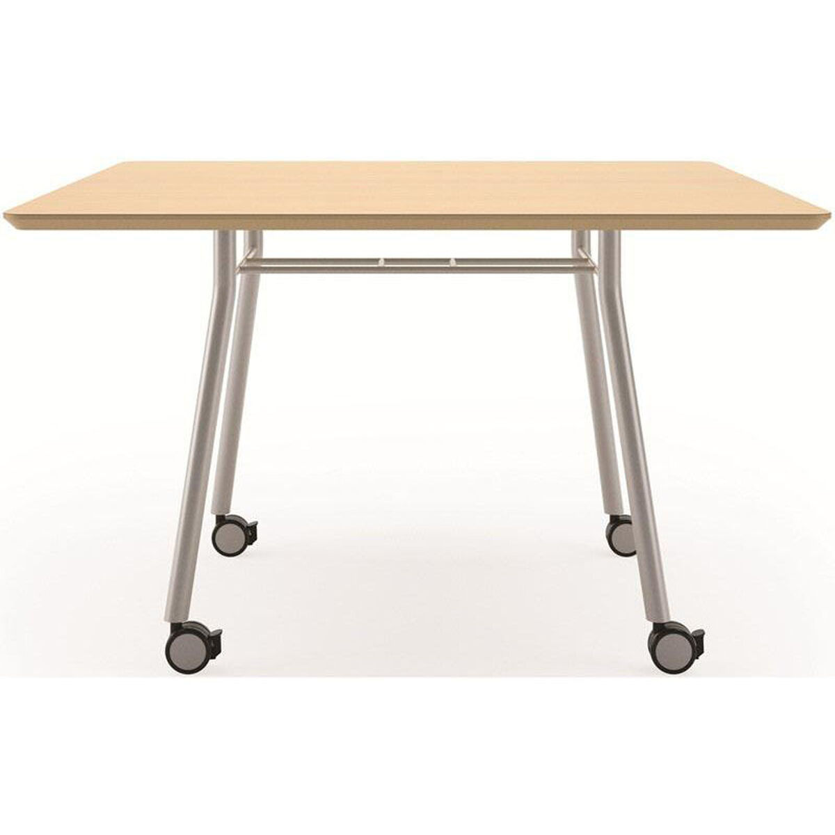 Square Conference Table Mobile MTQ Bizchaircom - Mobile conference table