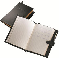 Writing Journal - Milano Top Grain Leather - Black