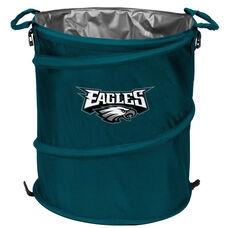 Philadelphia Eagles Team Logo Collapsible 3-in-1 Cooler Hamper Wastebasket