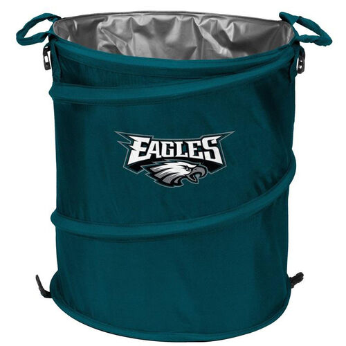 Our Philadelphia Eagles Team Logo Collapsible 3-in-1 Cooler Hamper Wastebasket is on sale now.