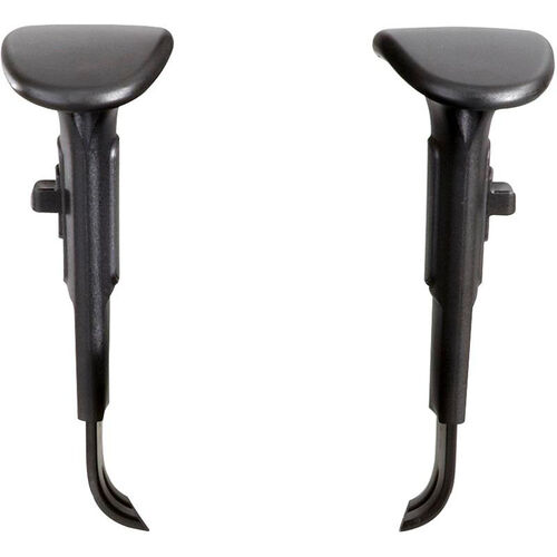 Our Adjustable Height T-Pad Armrest Kit for Vue™ Intensive Use Desk Chairs - Black is on sale now.