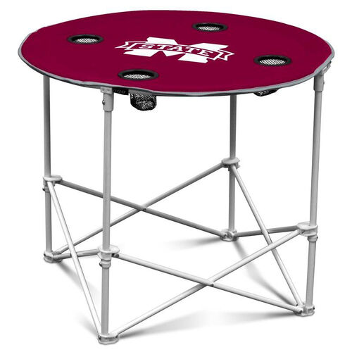 Our Mississippi State University Team Logo Round Folding Table is on sale now.