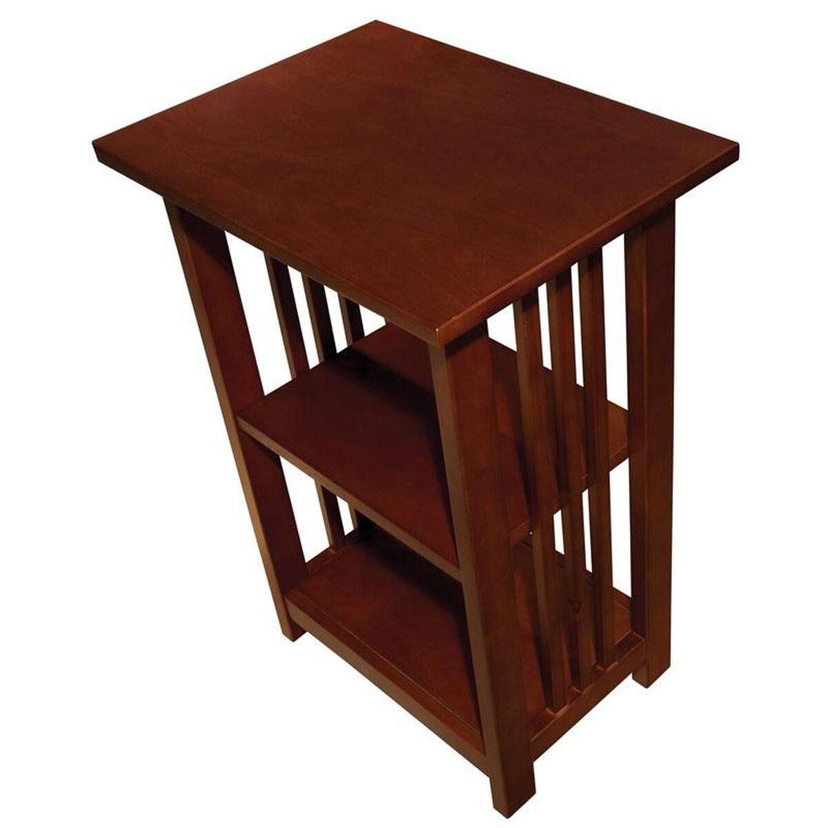 Cherry Wood End Table Amia0260 Bizchair Com