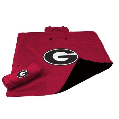 University of Georgia Team Logo All Weather Blanket