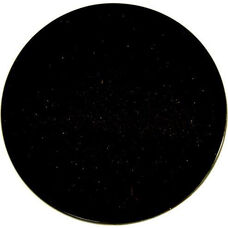 Natural Granite Round Outdoor Black Galaxy Tabletop - 36