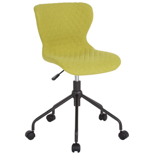 Our Somerset Home and Office Upholstered Task Chair in Citrus Green Fabric is on sale now.