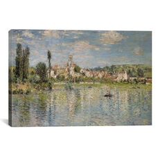 Vetheuil in Summer, 1880 by Claude Monet Gallery Wrapped Canvas Artwork