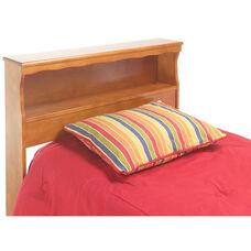 Barrister Wood Bookcase Headboard - Queen - Bayport Maple