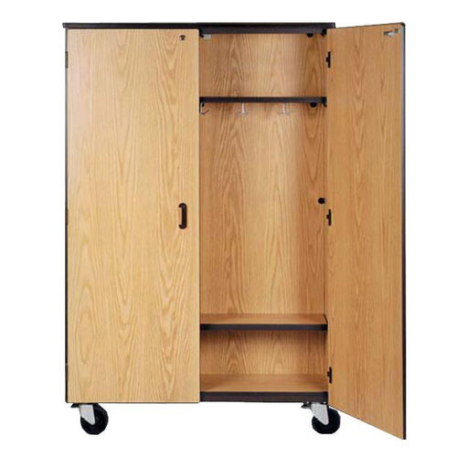 Our Mobile Coat Storage w/5 Double Coat Hooks and 1 Adjustable Shelf is on sale now.
