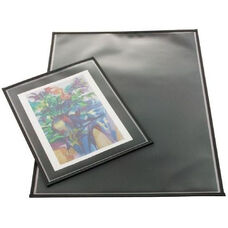 Polypropylene Archival Print Protector with Black Nylon Binding On All Sides 11