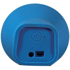 Blue Portable Wireless Bluetooth Enabled Cone Speaker with 3.5mm Audio Input Compatibility - 2