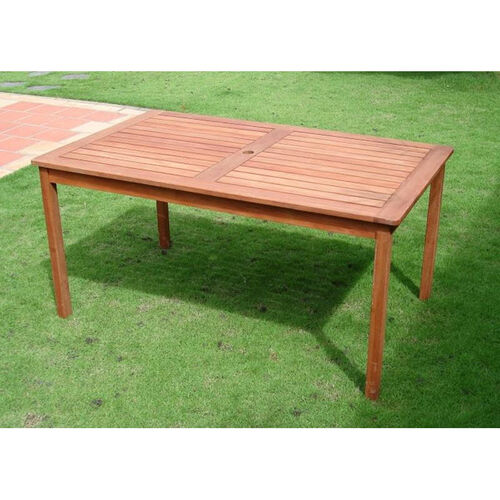 Our Malibu Outdoor Wood Rectangular Dining Table with Straight Legs is on sale now.
