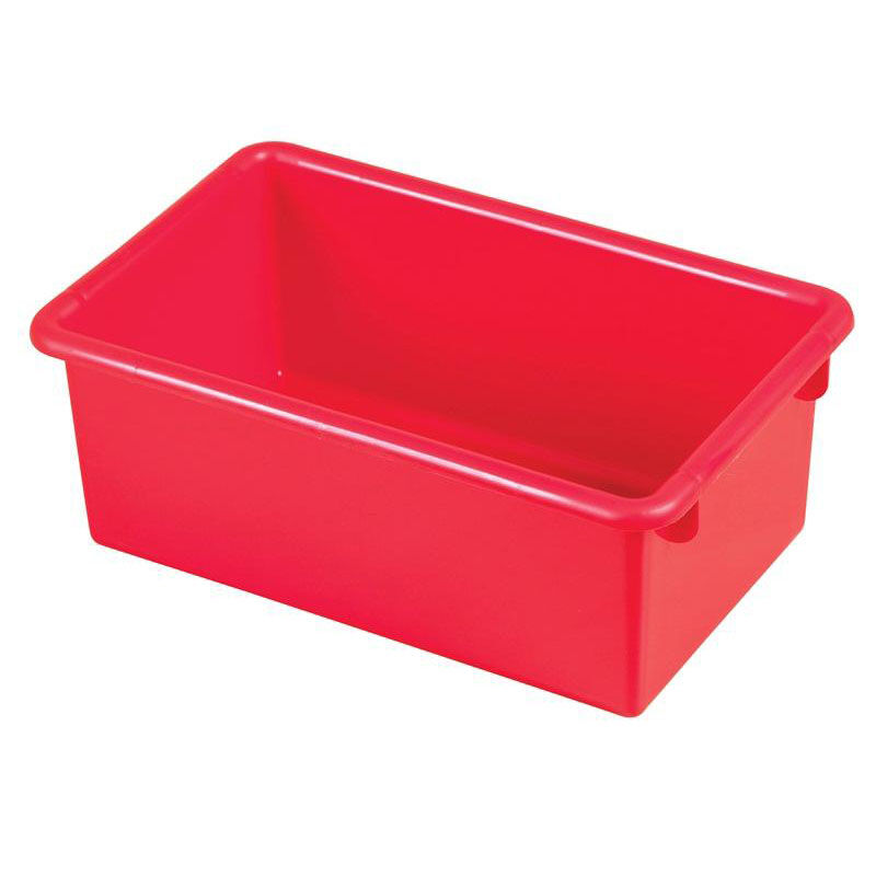 ... Our Stackable Heavy Duty Polypropylene Plastic Storage Tubs Without  Lids   Red Is On Sale Now