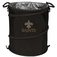 New Orleans Saints Team Logo Collapsible 3-in-1 Cooler Hamper Wastebasket