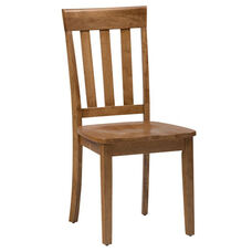 Simplicity Slat Back Side Chair - Honey