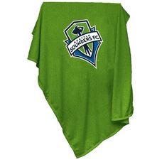 Seattle Sounders Team Logo Sweatshirt Blanket
