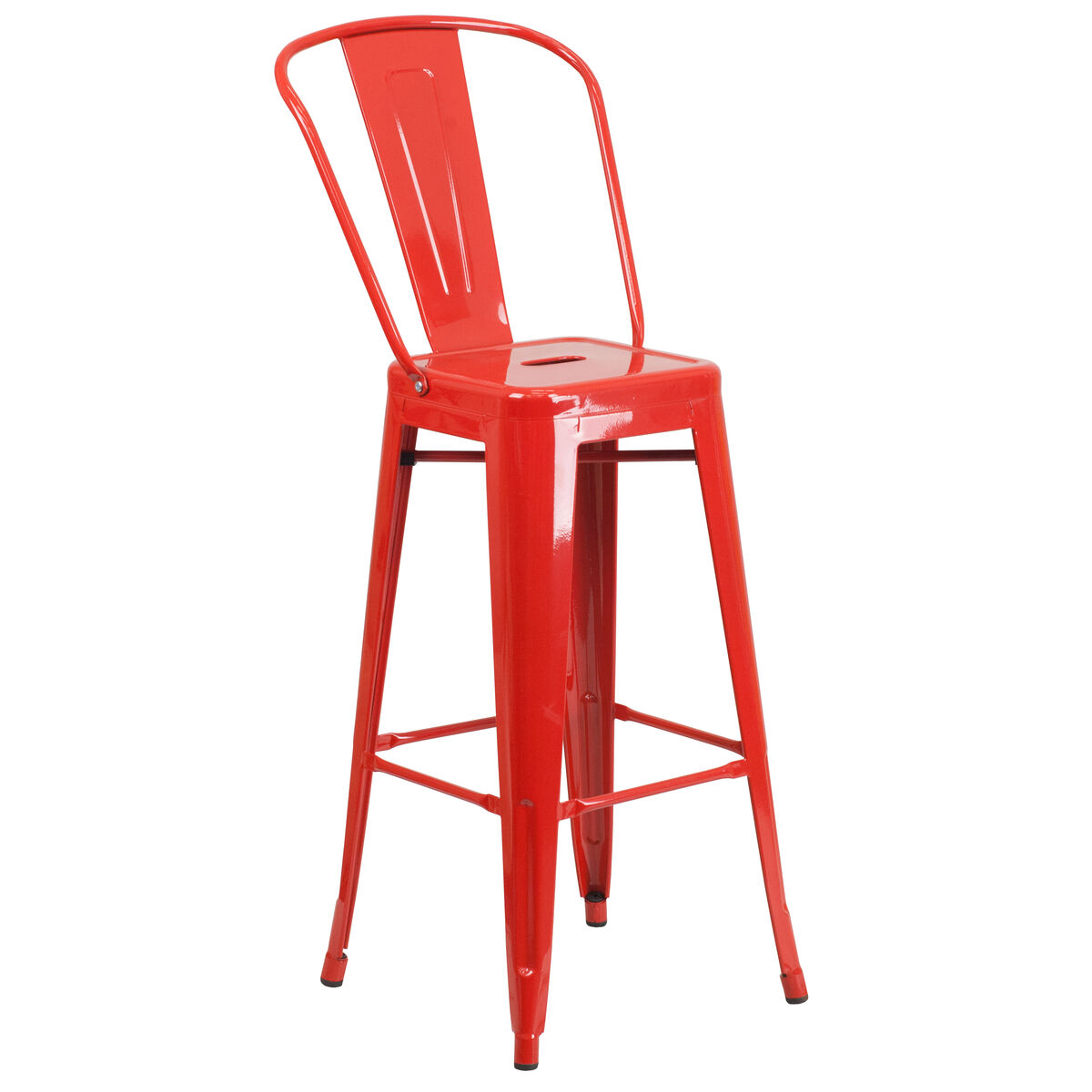 Prime Commercial Grade 24 Round Red Metal Indoor Outdoor Bar Table Set With 2 Cafe Stools Uwap Interior Chair Design Uwaporg