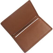 Business Card Case - Top Grain Nappa Leather - Tan
