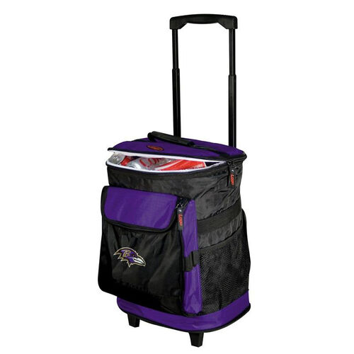 Our Baltimore Ravens Team Logo Rolling Cooler is on sale now.
