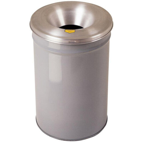 Our Cease-Fire® Safety Drum 30 Gallon Waste Receptacle with Aluminum Head - Gray is on sale now.