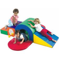 Alpine Tunnel Slide Soft Play Area