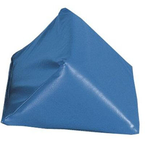Anti Slip 45 Degree Wedge Positioning Bolsters - Medium Blue Vinyl