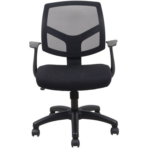 Our Essentials Swivel Mesh Task Chair with Arms - Black is on sale now.