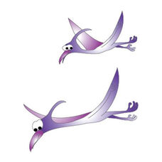 Pterodactyls Wall Sticker - 38