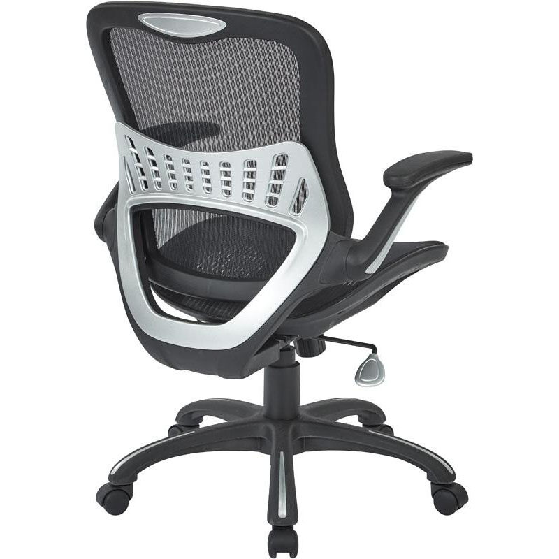 ... Our Work Smart Mesh Seat And Back Manageru0027s Chair   Black Mesh Is On  Sale Now ...