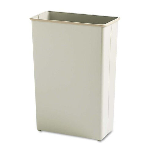 Our Safco® Rectangular Wastebasket - Steel - 22gal - Sand is on sale now.