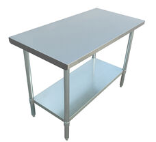 "Adcraft WT-2448-E 24""x48"" Stainless Steel Work Table"