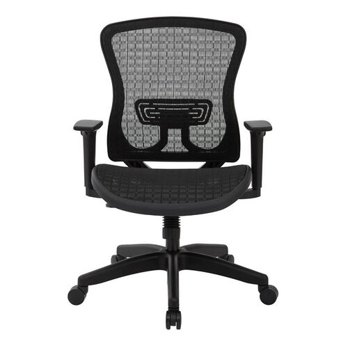 Our Space Seating CHX Dark Breathable Mesh Seat and Back Managers Office Chair - Black is on sale now.