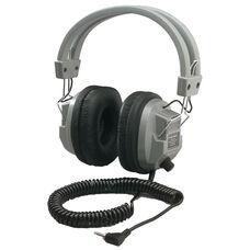 Schoolmate Deluxe Stereo/Mono Headphone with 1/8