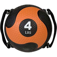 4 lbs. Rhino Ultra-Grip Medicine Ball in Orange