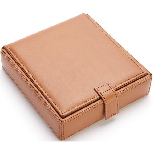 Our Watch and Cufflink Travel Case - Sedona New Bonded Leather - Tan is on sale now.