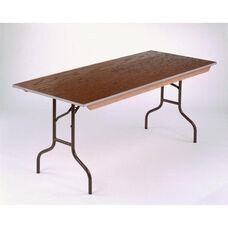 E Series Long Rectangular Plywood Core Folding Table - 30