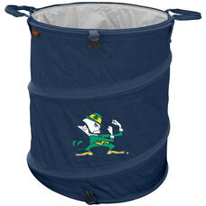 University of Notre Dame Team Logo Collapsible 3-in-1 Cooler Hamper Wastebasket